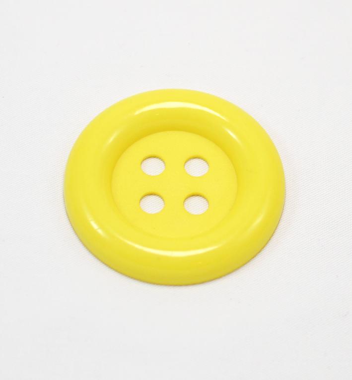 μεγαλο κουμπι πλαστικο κιτρινο