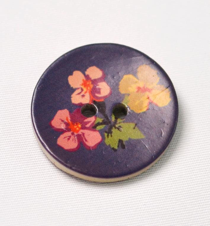 ξυλο καρυδας μωβ floral
