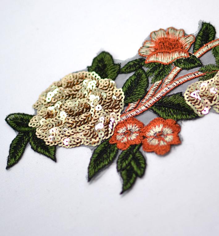 μοτιφ λουλουδι με πουλιες 2