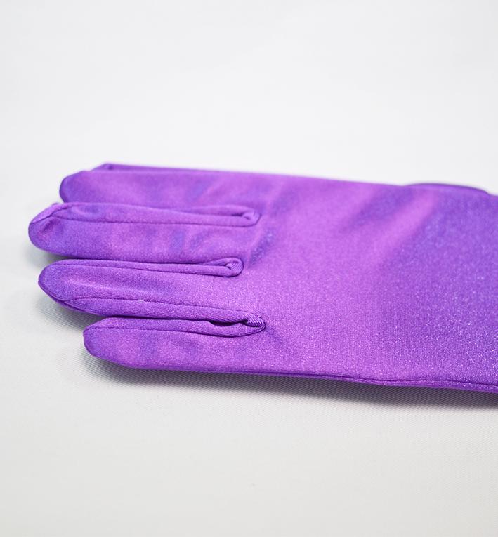 μωβ γαντια