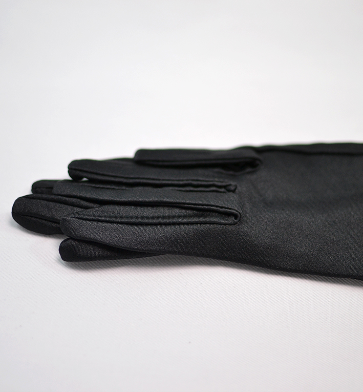 μαυρα γαντια μακρια