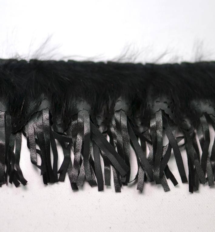 κροσι δερματινη μαυρο